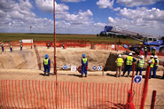 Construction at Zibulo (formerly Zondagsfontein) project is progressing, South Africa